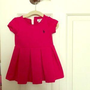 Ralph Lauren hot pink baby dress (9m)
